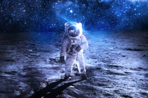 astronaut, Sci fi, Space, Art, Artwork, Technics, Spaceship, Planet