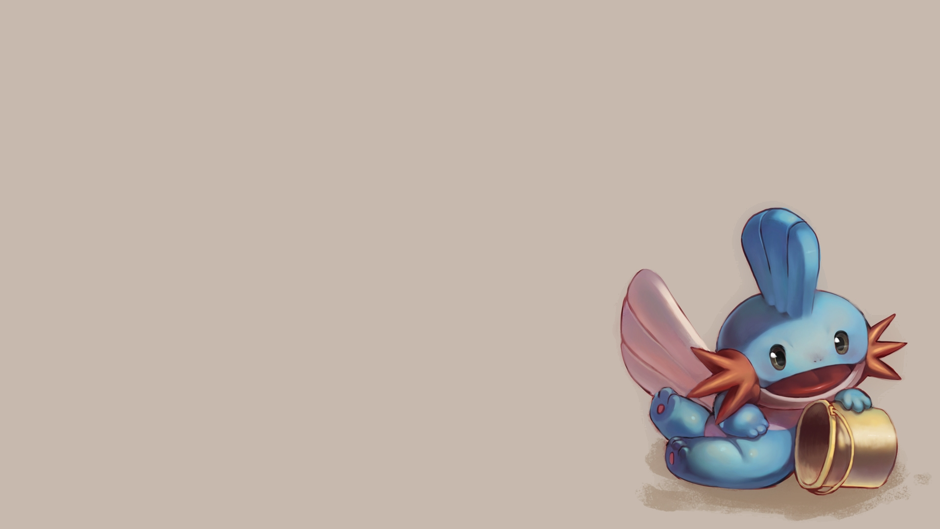 pokemon, Mudkip Wallpaper