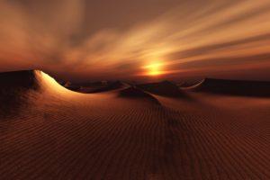 earth, Nature, Sand, Dune, Landscape, Sunset, Desert