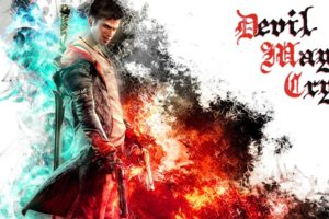 devil, May, Cry, Dmc, Fantasy, Action, Adventure, Fighting, Warrior, Martial, Arts, Poster