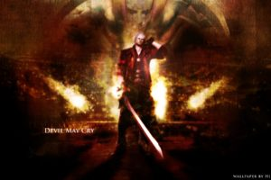 devil, May, Cry, Dmc, Fantasy, Action, Adventure, Fighting, Warrior, Martial, Arts, Poster