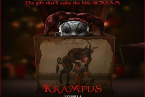 krampus, Monster, Demon, Evil, Horror, Dark, Occult, Christmas, Story, Poster