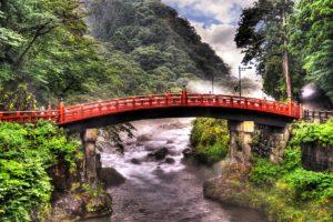 tokyo, Japan, Rivers, Bridges, Nature