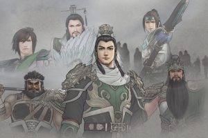 Art Abstract Dynasty Warrior 8 Game